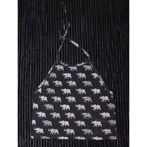Elephant Halter Crop Top